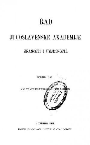 Knj. 33(1903) : RAD