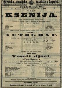 Autograf : komedija u jednom činu / od Henri Meilhaca