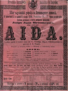 Aida velika opera u četiri čina / riječi Ghislanzonijeve