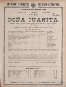 Dona Juanita komična opera u tri čina