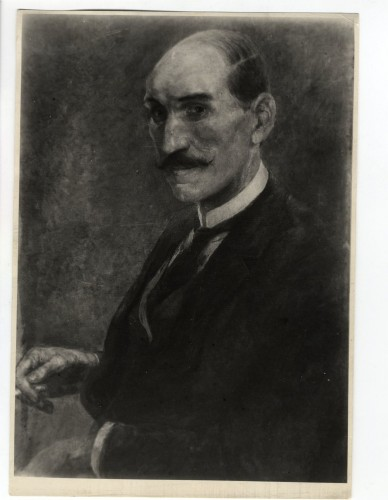 Portret A. G. Matoša na dopisnici