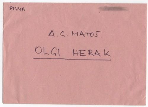 Korespondencija upućena Olgi Herak