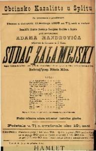 Sudac Zalamejski drama u 3 čina / Napisao Calderon de la Barca