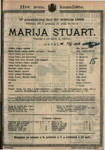 Marija Stuart Tragedija u pet činova / od Schillera