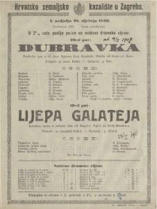 Dubravka pastirska igra u tri čina / spjevao Ivan Gundulić