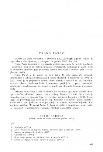 Frano Parać