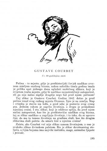 Gustave Courbet : uz 80-godišnjicu smrti : Bulletin Instituta za likovne umjetnosti Jugoslavenske akademije znanosti i umjetnosti