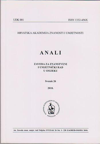 Anali Zavoda za znanstveni i umjetnički rad u Osijeku