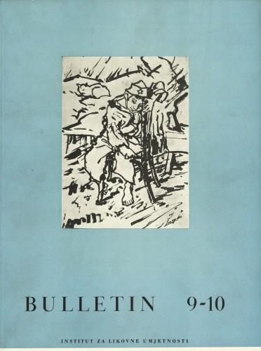 God. 4(1956), Br. 9-10 : Bulletin Instituta za likovne umjetnosti Jugoslavenske akademije znanosti i umjetnosti