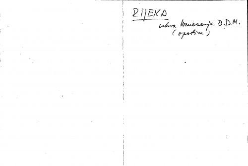 Rijeka crkva Uznesenja B. D. M. (opatice)