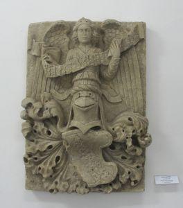 Grb s anđelima  / Andrija Aleši