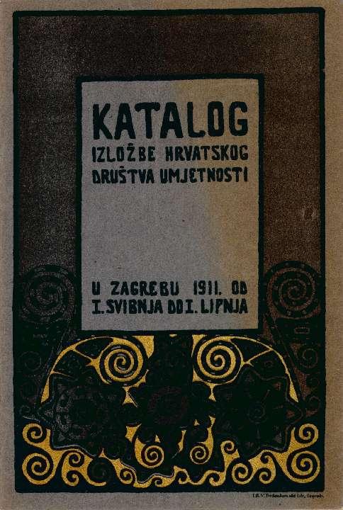Katalog izložbe Hrvatskog društva umjetnosti