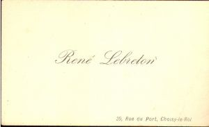 Rene Lebreton
