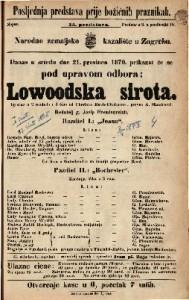Lowoodska sirota Igrokaz u 2 razdiela i 4 čina