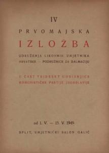IV Prvomajska izložba Udruženja likovnih umjetnika Hrvatske - podružnica za Dalmaciju