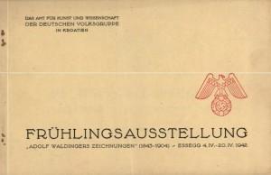 Fruhlingsausstellung - Adolf Waldingers zeichnungen (1843-1904)