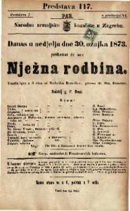 Nježna rodbina Vesela igra u 3 čina / od Roderika Benedixa