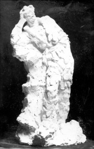 Radauš, Vanja (1906-1975) : Skica za spomenik Petrici Kerempuhu - stojeća figura