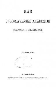 Knj. 15(1871) : RAD