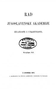 Knj. 11(1870) : RAD
