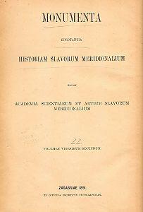 Knj. 10 : Od godine 1453 do 1469 : Monumenta spectantia historiam Slavorum meridionalium