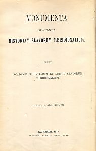 Knj. 3 : Od godine 1544. do godine 1554. : Monumenta spectantia historiam Slavorum meridionalium
