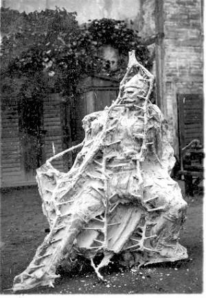 Augustinčić, Antun (1900-1979) : Izrada dijela spomenika Palim Nišlijama