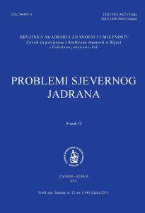 Sv. 12(2013) : Problemi sjevernog Jadrana