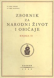 Knj. 51 (1989) : Zbornik za narodni život i običaje