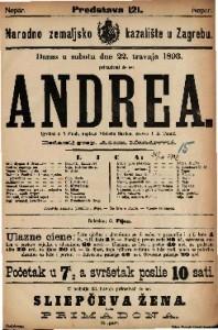 Andrea Igrokaz u 5 čina / napisao Viktorin Sardou