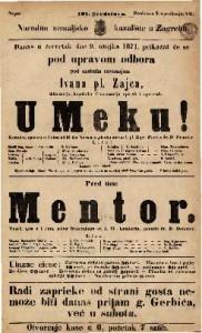 U Meku! : Komična opereta u 1 činu