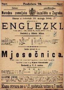 Englezki : Vesela igra u 1 činu / napisao Th. Görner