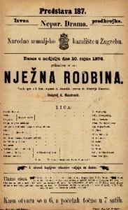 Nježna rodbina vesela igra u 3 čina / napisao R. Benediks