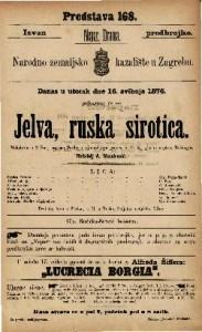Jelva, ruska sirotica melodram u 2 čina / napisao Scribe