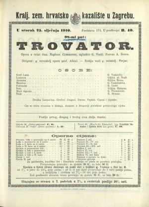 Trovator : Opera u četiri čina