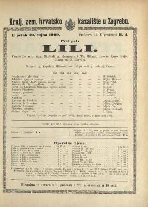 Lili Vaudeville u tri čina