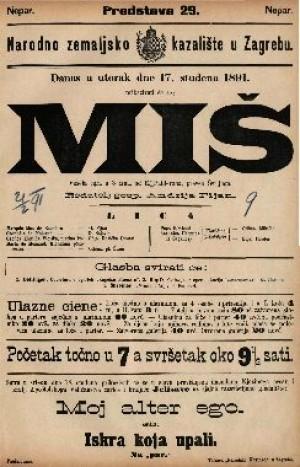 Miš Vesela igra u 3 čina