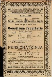 Consilium facultatis Vesela igra u 1 činu / napisao I. Alexander grof Fredro