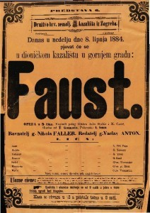 Faust Opera u 5 čina / Glasba od T. Gounoda