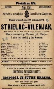 Strielac - vilenjak pučka opera u 3 čina / u glasbu stavio C. M. Weber
