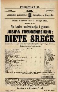 Diete sreće Karakteristična vesela igra u 5 činah / od Charlotte Bircpfeiferove, preveo Spiro Dimitrović