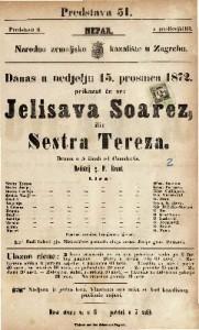 Jelisava Soarez ili Sestra Tereza drama u 5 činah / od V. Camolettia