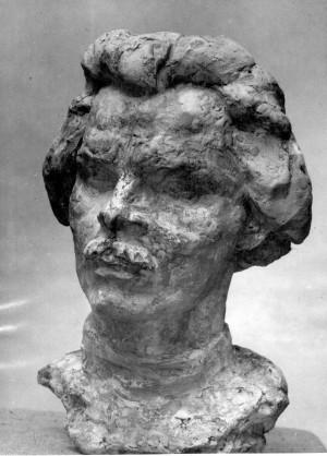 Bakić, Vojin(1915-1992): Maksim Gorki [Dabac, Tošo(1907-5-18 1970-5-9)]