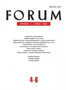 God. 48(2009), knj. 81, br. 4-6 (travanj-lipanj) : Forum : mjesečnik Razreda za književnost Hrvatske akademije znanosti i umjetnosti.