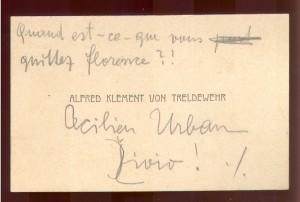 Alfred Klement von Treldewehr