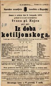 Iz doba kotiljonskoga Vesela igra u 3 čina / Emanuel Boždĕch