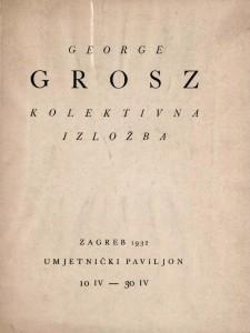 George Grosz kolektivna izložba