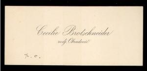 Cecilie Brotschneider rodj. Obradović