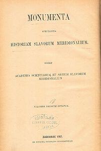 Acta Bulgariae ecclesiastica : ab a. 1565 usque ad a. 1799 : Monumenta spectantia historiam Slavorum meridionalium