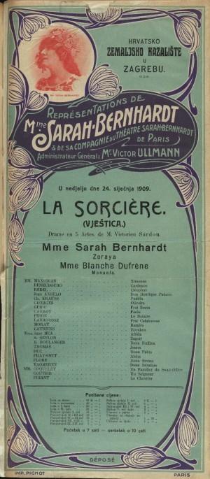 Vještica Drama iz inkvizitorskih vremena u pet činova  =  La Sorcière